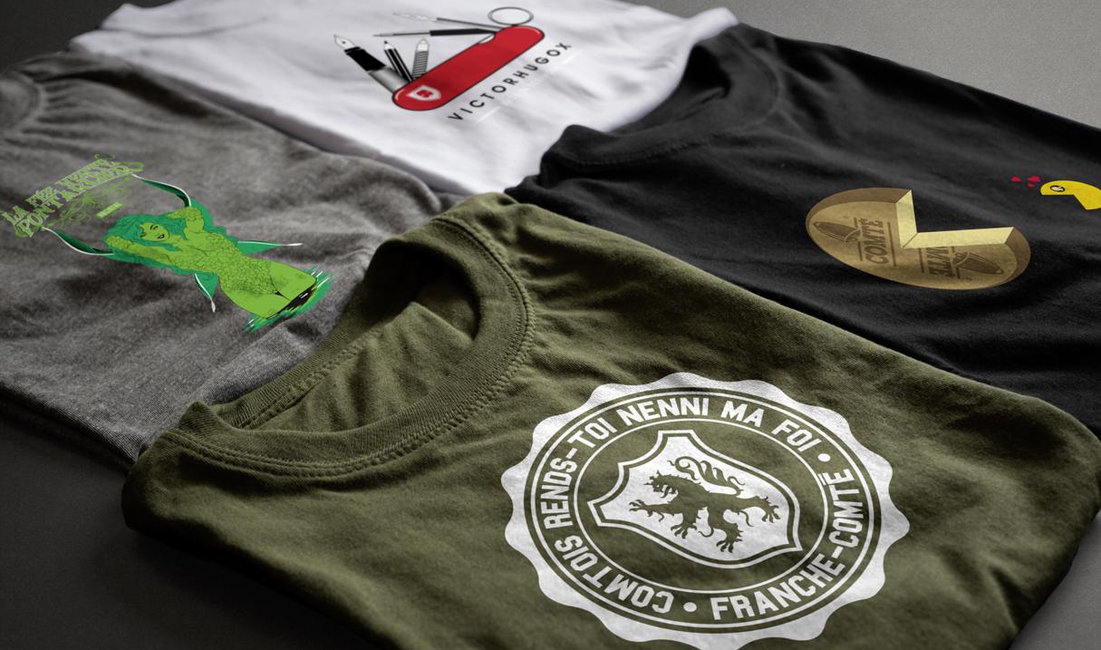 Tee-shirt Bourgogne Franche-Comté